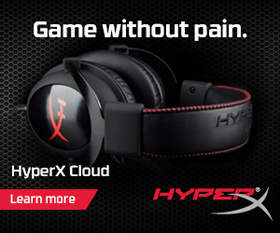 MCOW/SMON - Kingston Cloud HyperX Headset