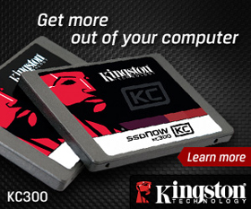MCOW/SMON - Kingston KC300 SSD