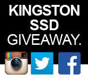 MCOW - Kingston SSD Giveaway Competition