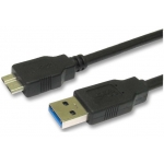 Male A To Micro USB 3.0 Cable Lead 1.8m