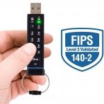 Apricorn Aegis 8GB USB 2.0 Memory Stick Flash Drive FIPS 140-2 Level 3