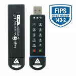 Apricorn Aegis 3NX 8GB USB 3.0 Memory Stick Flash Drive FIPS 140-2 Level 3 XTS