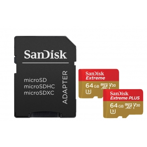 New SanDisk Extreme & Extreme Plus microSD Memory Cards