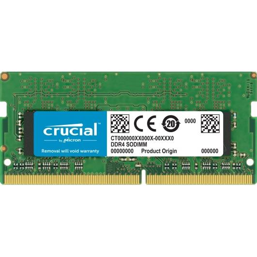 16GB Crucial DDR4 PC4-21300 2666Mhz 260-pin SODIMM Non ECC Memory RAM