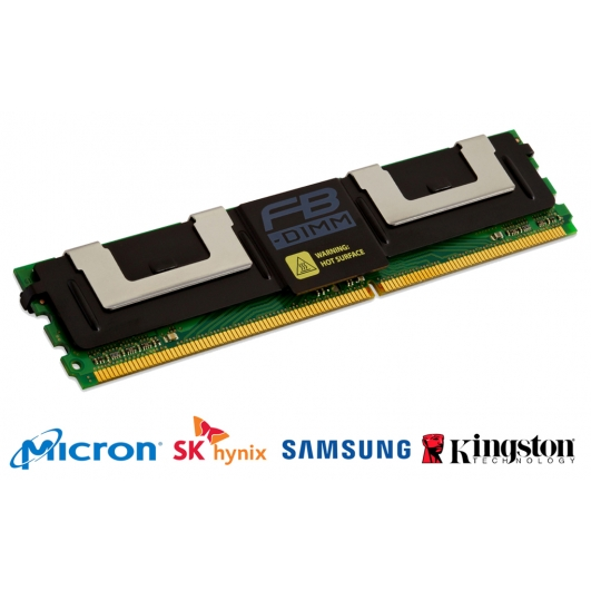 8GB DDR2 PC2-5300 667Mhz 240-pin ECC FB (Fully Buffered) RAM Memory DIMM