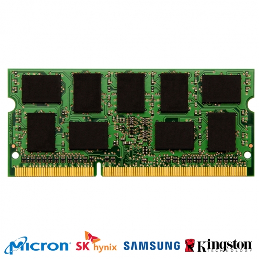 4GB DDR3L PC3-12800 1600Mhz 204-pin SODIMM ECC Unbuffered Memory RAM
