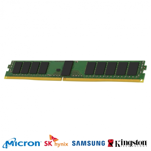 16GB DDR4 PC4-19200 2400Mhz 288-pin DIMM ECC Registered VLP Memory RAM
