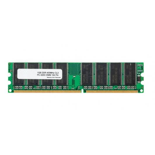 1GB (1GB x1) DDR 400Mhz Non ECC Memory RAM DIMM