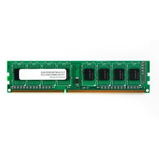 2GB (2GB x1) DDR2 RAM Memory Non ECC DIMM 667Mhz PC2-5300