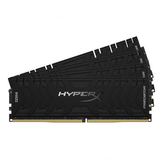 HyperX Predator HX433C16PB3K4/32 32GB (8GB x4) DDR4 3333Mhz Non ECC Memory RAM DIMM