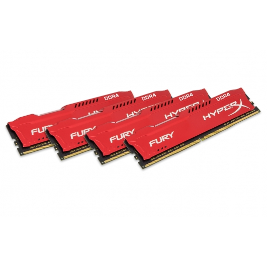 HyperX Fury HX429C17FRK4/64 64GB (16GB x4) DDR4 2933MHz Non ECC Memory RAM DIMM