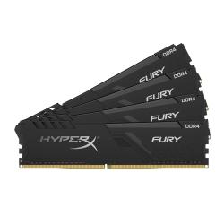 HyperX Fury HX432C16FB3K4/32 32GB (8GB x4) DDR4 3200MHz Non ECC Memory RAM DIMM