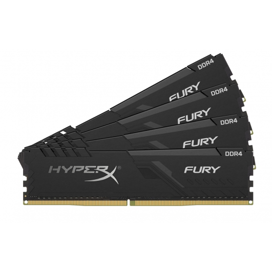 HyperX Fury HX424C15FB4K4/64 64GB (16GB x4) DDR4 2400Mhz Non ECC Memory RAM DIMM