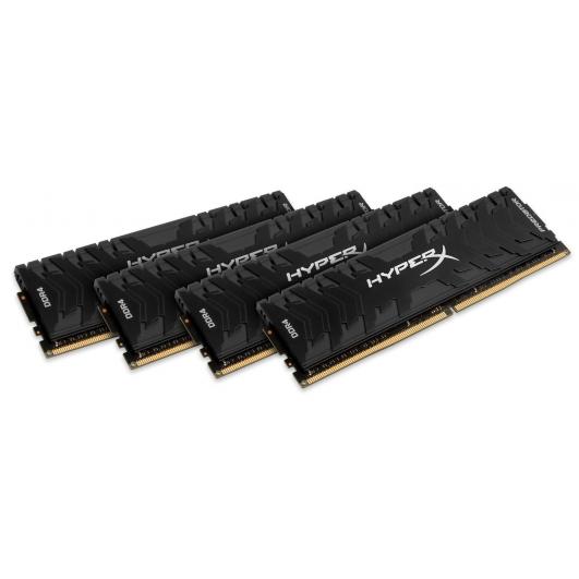 HyperX Predator HX424C12PB3K4/32 Black 8GB (16GB x4) DDR4 2400Mhz Non ECC Memory RAM DIMM
