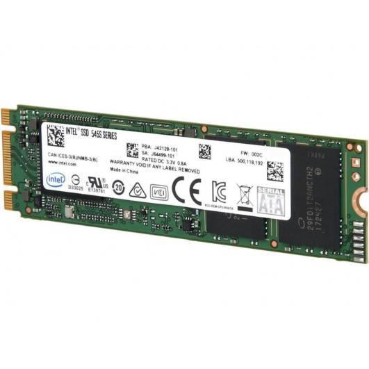 Intel 512GB 545s SSD M.2 2280 SATA III (3) 6Gb/s 550MB/s R 500MB/s W