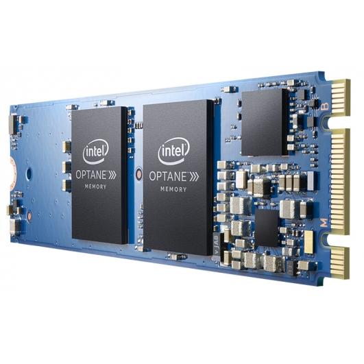 Intel 64GB Optane M10 SSD M.2 (2280), NVMe, PCIe 3.0 (x2) 1450MB/s R, 650MB/s W