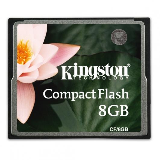 Kingston 8GB Compact Flash (CF) Memory Card