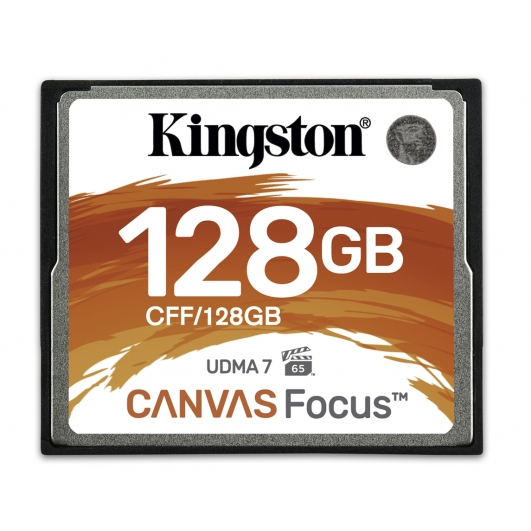 Kingston 128GB Canvas Focus Compact Flash (CF) Memory Card