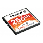 Kingston Canvas Focus 256GB Compact Flash (CF) Memory Card 150MB/s R 130MB/s W