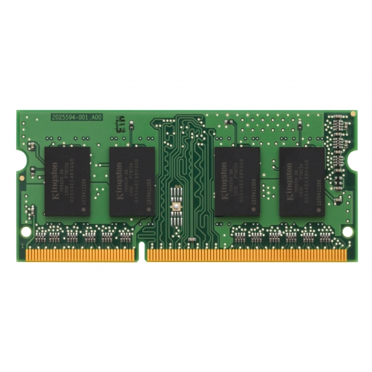 Kingston 4GB DDR3L PC3-12800 1600Mhz 204-pin SODIMM ECC Unbuffered Memory RAM