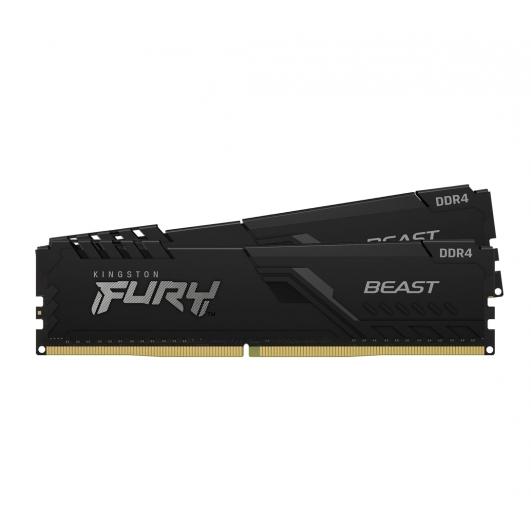 Kingston Fury Beast KF436C18BBK2/64 64GB (32GB x2) DDR4 3600Mhz Non ECC DIMM