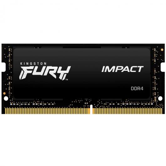 Kingston Fury Impact KF426S15IB/8 8GB DDR4 2666Mhz Non ECC Memory RAM SODIMM