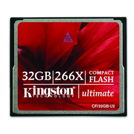 Kingston 32GB Ultimate Compact Flash (CF) Memory Card 266x