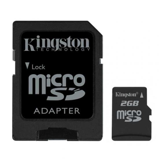 Cheap Kingston 2GB MicroSD Memory Card (Retail)