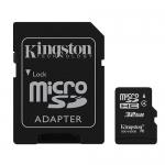 Kingston 32GB microSDHC (microSD) Memory Card Inc Adapter 4MB/s