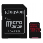 Kingston 128GB Canvas React Micro SD Card
