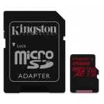 Kingston 256GB Canvas React Micro SD Card