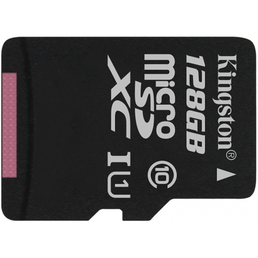 Kingston 128GB Canvas Select Micro SD (SDXC) Card 80MB/s R, 10MB/s W