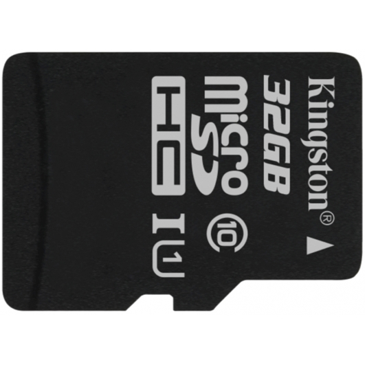 Kingston 32GB Canvas Select Micro SD (SDHC) Card 80MB/s R, 10MB/s W