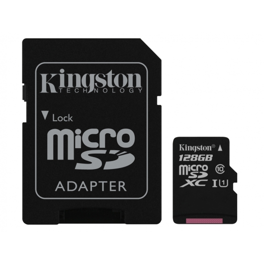 Kingston 128GB Micro SDXC Memory Card Inc Adapter U1 45MB/s G2 for Samsung  Galaxy Note 3 N9000 Mobile Phone