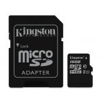 Kingston 16GB Micro SD (SDHC) Card 45MB/s R 10MB/s W