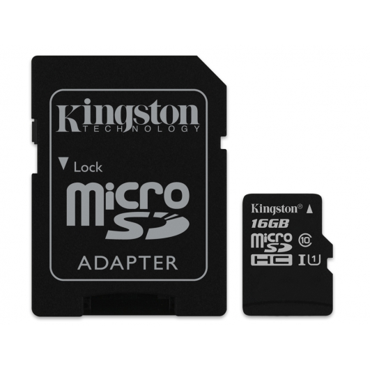 Kingston 16GB Micro SDHC (MicroSD) Memory Card Inc Adapter U1 45MB/s G2 for Samsung  Galaxy Note 3 N9000 Mobile Phone