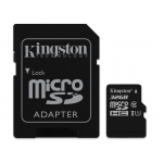 Kingston 32GB microSDHC (microSD) Memory Card Inc Adapter U1 45MB/s G2