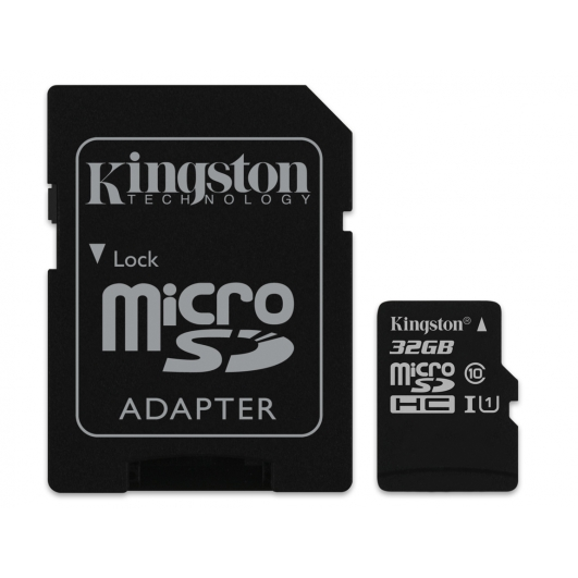 Kingston 32GB Micro SDHC (MicroSD) Memory Card Inc Adapter U1 45MB/s G2 for Samsung  Galaxy Note 3 N9000 Mobile Phone