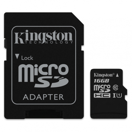 Kingston 16GB Micro SDHC (MicroSD) Memory Card Inc Adapter U1 10MB/s for Samsung  Galaxy Note 3 N9000 Mobile Phone