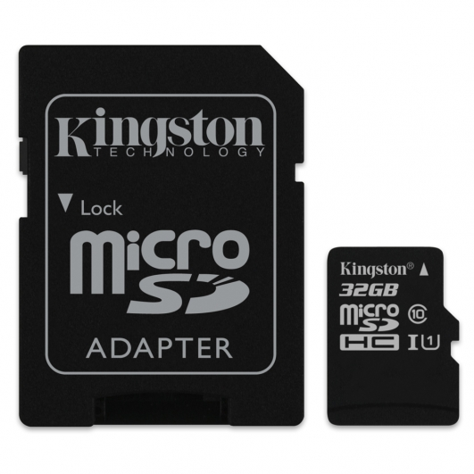 Kingston 32GB Micro SDHC (MicroSD) Memory Card Inc Adapter U1 10MB/s for Samsung  Galaxy Note 3 N9000 Mobile Phone