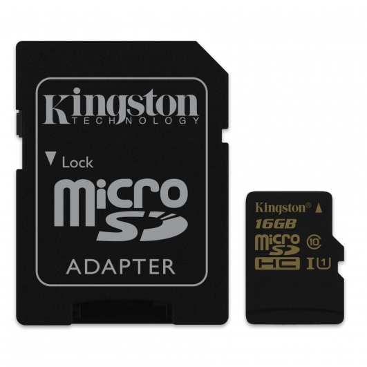 Kingston 16GB Micro SDHC (MicroSD) Memory Card Inc Adapter U1 45MB/s for Samsung  Galaxy Note 3 N9000 Mobile Phone