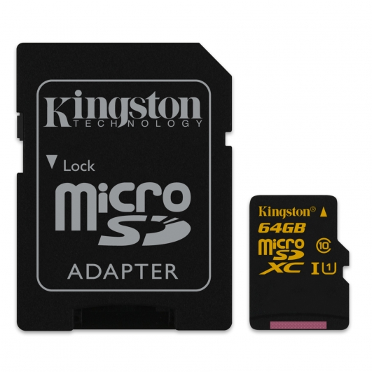 Kingston 64GB Micro SDXC Memory Card Inc Adapter U1 45MB/s for Samsung  Galaxy Note 3 N9000 Mobile Phone