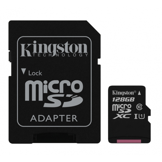 Kingston 128GB Micro SDXC Memory Card Inc Adapter U1 10MB/s for Samsung  Galaxy Note 3 N9000 Mobile Phone