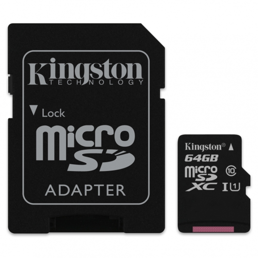 Kingston 64GB Micro SDXC Memory Card Inc Adapter U1 10MB/s for Samsung  Galaxy Note 3 N9000 Mobile Phone