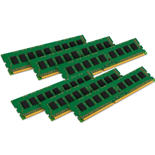 Kingston 24GB (4GB x6) DDR3 RAM Memory Non ECC DIMM 1333Mhz PC3-10600 1.5v