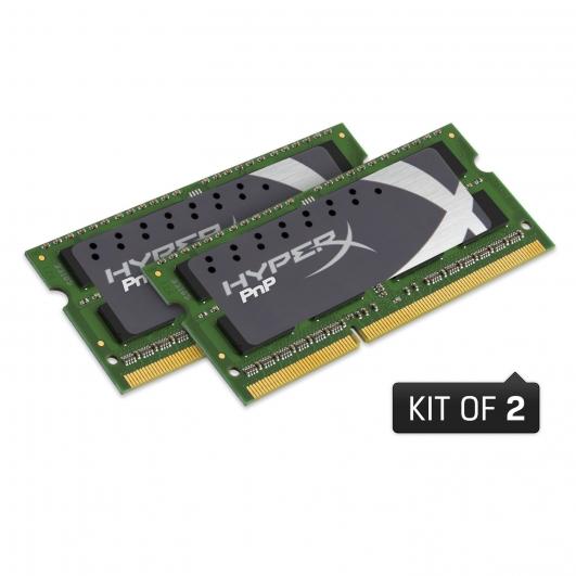 HyperX 8GB SODIMM DDR3 1600MHz Laptop Notebook Ram Memory Kit (4GBx2)