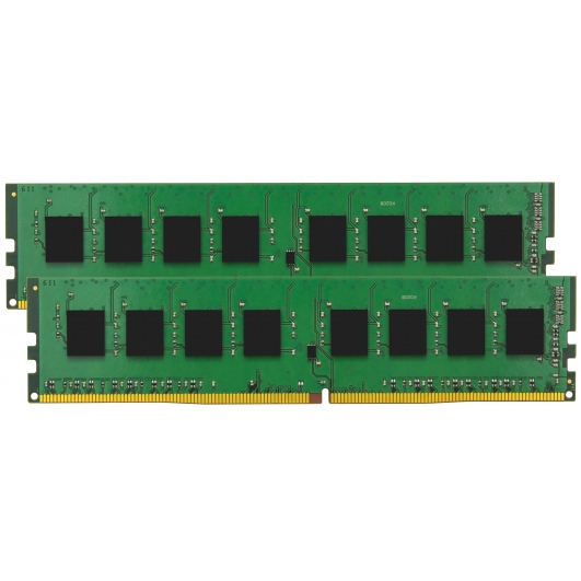 Kingston 32GB DDR4 Kit (16GB x2) 2133Mhz ECC Unbuffered RAM Memory DIMM