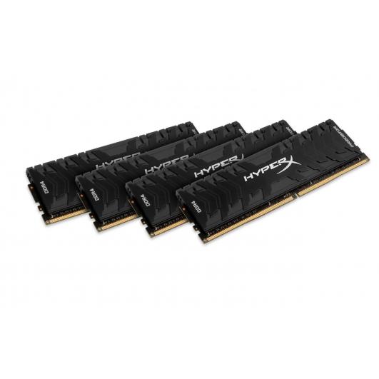 HyperX Predator HX430C15PB3K4/16 Black 16GB (4GB x4) DDR4 3000Mhz Non ECC Memory RAM DIMM