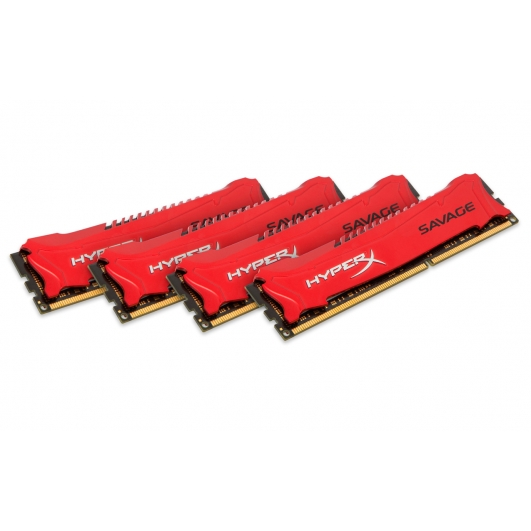 HyperX Savage Red 32GB (8GB x4) DDR3 PC3-12800 1600MHz RAM Memory 1.5v CL9 DIMM