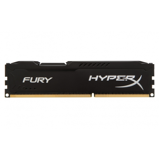 HyperX Fury Black 8GB DDR3 PC3-12800 1600MHz RAM Memory 1.5v CL10 DIMM